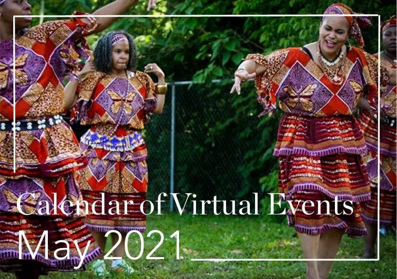 Women doing tribe dance